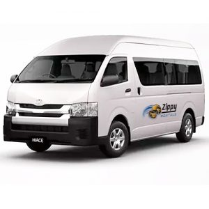 Bus for hire at Zippy Rentals